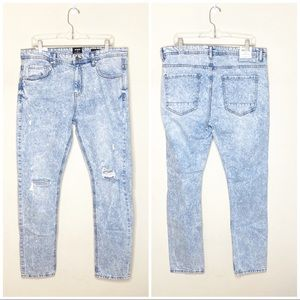 NWT Cotton On Slim Leg Jeans Destroyed Size 36